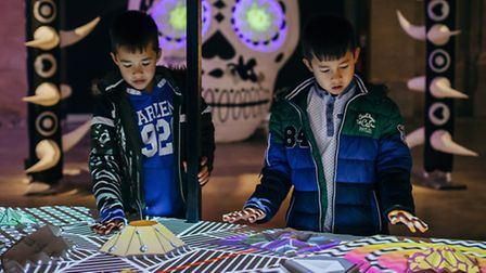 Touring exhibition AniMotion is at The Forum over the festive period where visitors can interact wit