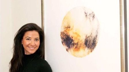 Art teacher Androulla Michael will see her work on display at Brussels airport after winning an awar