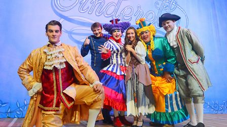 Cinderella is this year's panto at King's Lynn Corn Exchange. Picture: Ian Burt