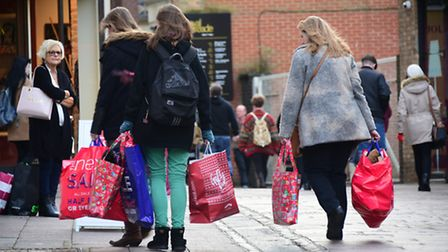 Norwich Boxing Day sales 2015.Picture: ANTONY KELLY