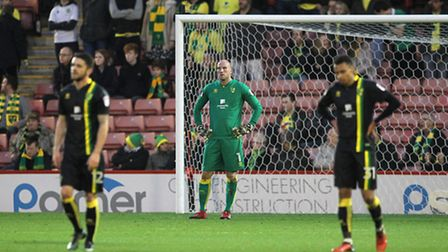 Norwich City suffered a fourth straight Championship away defeat at Barnsley. Picture by Paul Cheste