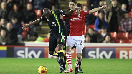 Youssouf Mulumbu added some muscle to the Norwich City midfield. Picture by Paul Chesterton/Focus Im