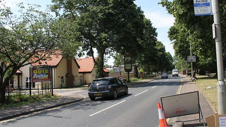 Thatcher's Needle on Park Road in Diss. Picture: Kate Royall