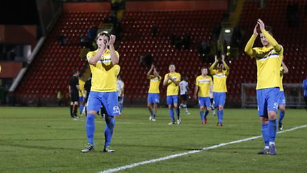 King's Lynn Town FC. Picture by Simon Moore/Focus Images Ltd