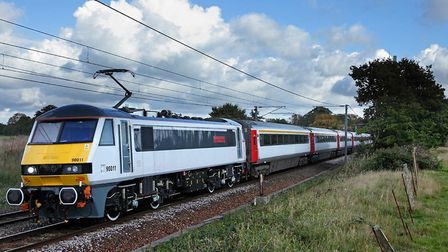 Greater Anglia train. Picture Archant Library.