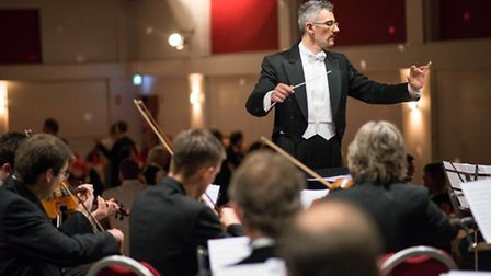 Dario Salvi will be conducting the Imperial Vienna Orchestra in a performance of A Trip to Africa. P