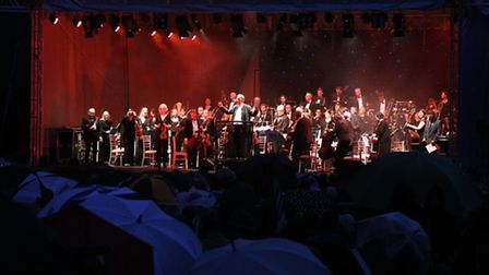 The Royal Philharmonic Concert Orchestra are doing Soundtrack Spectacular at Taverham Hall School. P