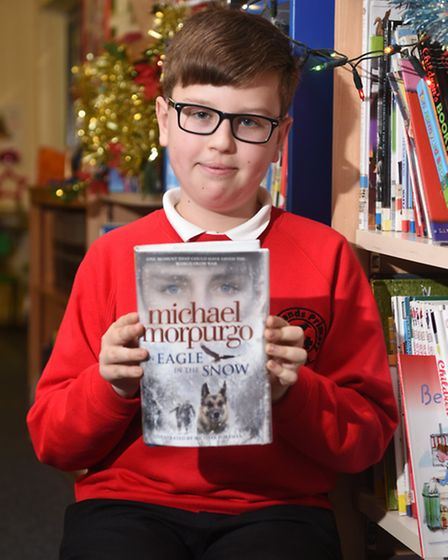 My book recommendation: An Eagle in the Snow, Michael Morpurgo. Picture: ANTONY KELLY