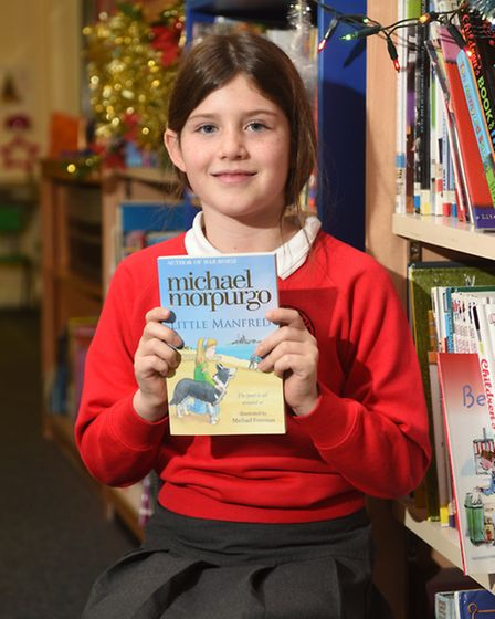 My book recommendation: Little Manfred, Michael Morpurgo. Picture: ANTONY KELLY