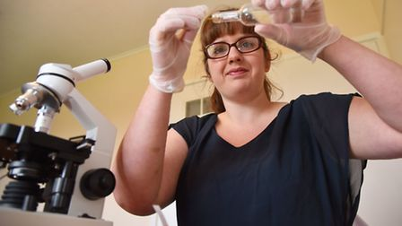 After leaving school without her qualifications, Jessica Suter has just finished her science degree,