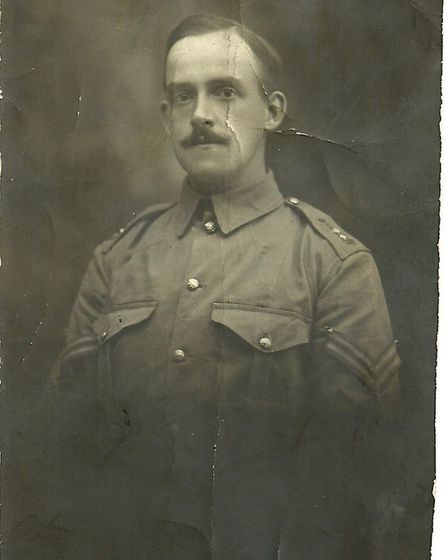 Corporal Francis Mitchell. Photo: supplied by Freda Powell.