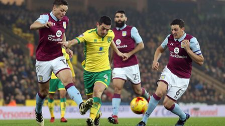 Graham Dorrans was a driving presence in Norwich City's midfield. Picture by Paul Chesterton/Focus I