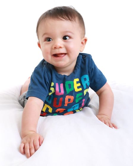 William Green winner in the up to 18 months babies category