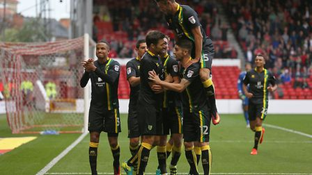 Jonny Howson is rubbishing the idea Norwich City's top two hopes have disappeared. Picture: Paul Che