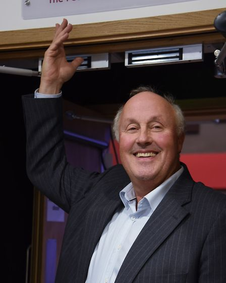 Outgoing Theatre Royal chief executive Peter Wilson in the Stage Two auditorium which has been named