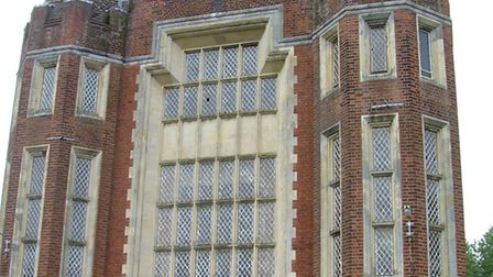 The imposing facade of the former Union Workshouse in Aylsham, later St Michael's Hospital. Picture: