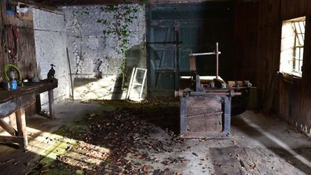 The old Engine House at Brandon COuntry Park is being restored with help from the Breaking New Groun