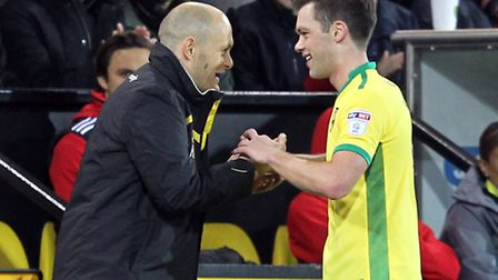 Alex Neil could call on the services of Jonny Howson against Brentford. Picture by Paul Chesterton/F