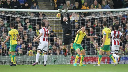 John Ruddy ensured Norwich City kept a clean sheet for the first time in the league since August 16.
