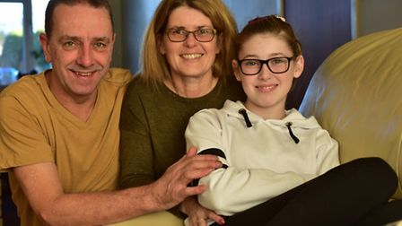 Sir John Leman High School student Briony Evans-Brown, 12, is returing to school after suffering a h