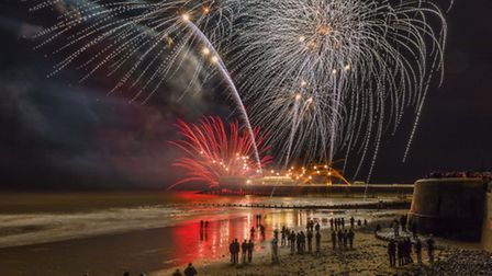 Paul Dunstan won the 2016 photography competition with this spectacular image of the fireworks displ