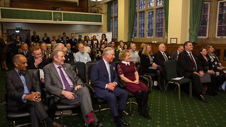Norfolk farmer Helen Reeve spoke to guests including The Prince of Wales at a rural summit in Westmi