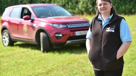 Norfolk Farmer Helen Reeve won a business bursary from the Prince's Countryside Fund in 2016. Her aw