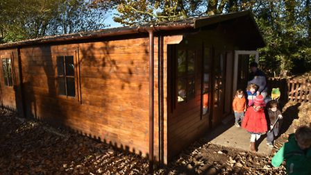 Botesdale and Rickinghall Pre-school have a new log cabin to extend their play area and facilities.