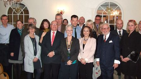 The Rotary membership night Picture: The Rotary Club of Diss & District