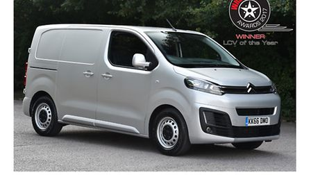 Citroen Dispatch shared top light commercial vehicle award with Peugeot Expert and Toyota Proace.