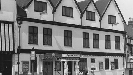 Norwich - BuildingsSamson and Hercules dance hall.Dated 1982. Picture Archant Library.