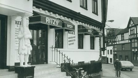 Norwich. Ritzy nightclub (formerly the Samson & Hercules) in the early 1980s. Picture Archant Librar