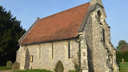The chapel in Queen's Road Cemetery, Fakenham, which could be turned into new town council offices.