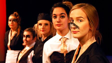 The Fruits of Enlightenment being staged at the UEA. Picture: Ella Joy Green