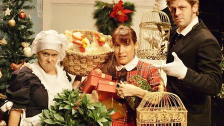 The Twelve Days of Christmas comes to Garboldisham Village Hall. Picture: Distraction Theatre Compan