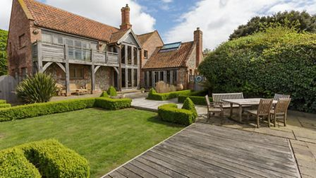 Most expensive homes sold in October: Ivybank, Cley. Photo supplied by Sowerbys.