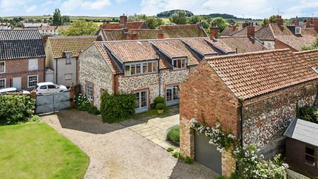 Most expensive homes sold in October: Julers Yard, Burnham Market. Photo supplied by Sowerbys