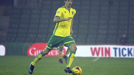 Timm Klose of U23 Manager during the Checkatrade Trophy match at Carrow Road, NorwichPicture by Mat