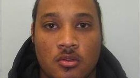 Martell Randall was jailed for 3 years for drugs conspiracy and false imprisonment. Picture: Norfolk