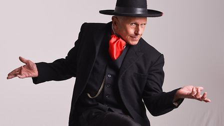 Wayne Sleep plays villain Phineas P Stinkworthy in Norwich Theatre Royal's panto Jack and the Beanst