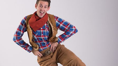 David Burilin plays our hero Jack Trottalot in this year's Norwich Theatre Royal panto.PHOTO: Steve