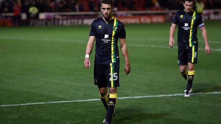 Norwich City slumped to a fourth straight Championship away defeat at Barnsley. Picture by Paul Ches