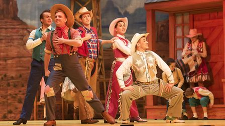 Dress Rehearsal of the Norwich Theatre Royal panto 'Jack and the Beanstalk' PHOTO: Nick Butcher
