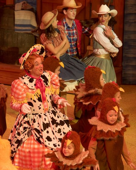 Dress Rehearsal of the Norwich Theatre Royal panto 'Jack and the Beanstalk'PHOTO: Nick Butcher