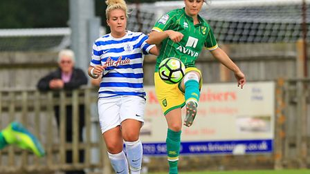 Top scorer Chelsea Garrett notched her eighth of the season last week.Pictures: KEVIN RICHARDS/SARAH