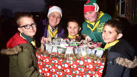 A fun Christmas afternoon was held at the Crown, Fakenham.Fakenham and Wensum scouts at the event.PH
