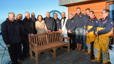 Sid Everett, of Mattishall, raised almost £200,000 for charity – including the RNLI – before his dea
