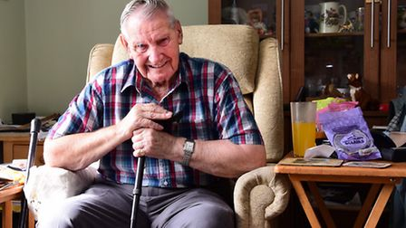 Sid Everett who raised thousands of pounds for the RNLI in Cromer and was still fundraising aged 93.