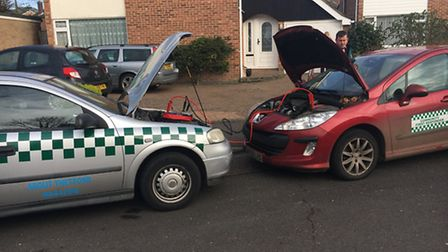 The Thetford Community First Responders (CFRs) are appealing for donations towards a new vehicle as