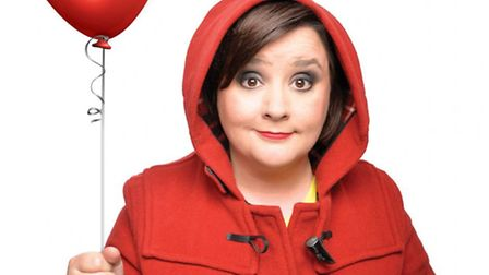Susan Calman brings her show The Calman Before The Storm to Norwich Playhouse. Picture: Steve Ullath
